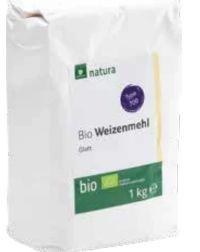 Bio Weizenmehl von Natura