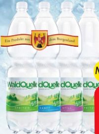 Mineralwasser von Waldquelle