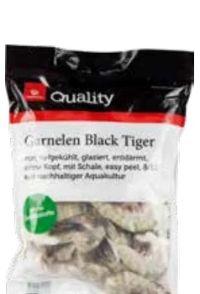 Garnelen Black Tiger von Quality