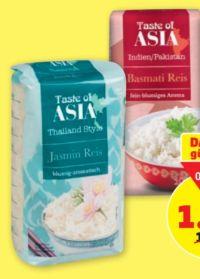 Basmati Reis von Taste of Asia