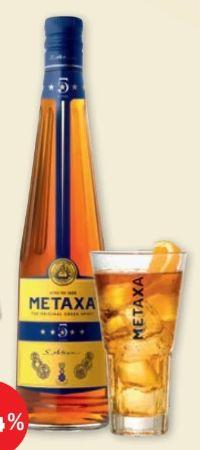 5 Sterne von Metaxa