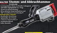 Stemm-Abbruchhammer Z1G-DS-65W von Walter