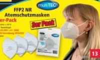 FFP2 Atemschutzmasken von Multitec