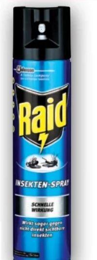 Insektenspray von Raid