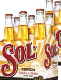 Bier von Sol Mexico
