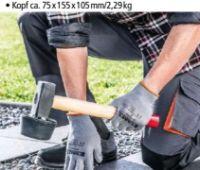 Profi-Plattenhammer von Kraft Werkzeuge