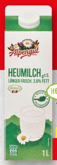 Heumilch von Alpengut