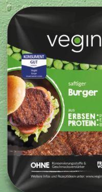 Veganer Burger von Vegini