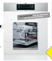 Einbau-Geschirrspüler FEE63800PM von AEG