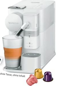 Nespresso Kapselmaschine EN510.W Lattissima One von DeLonghi