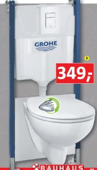 Wand-WC-Set Solido Compact von Grohe
