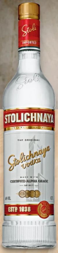 Vodka von Stolichnaya