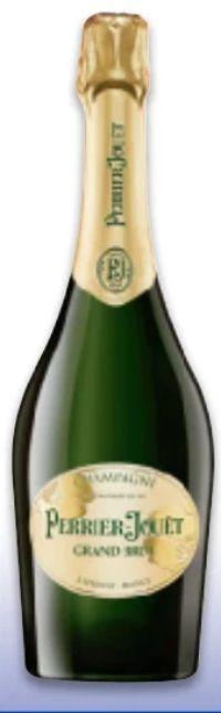 Champagner Grand Brut von Perrier Jouet