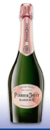 Champagner Blason Rosé von Perrier Jouet