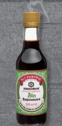 Bio-Sojasauce von Kikkoman