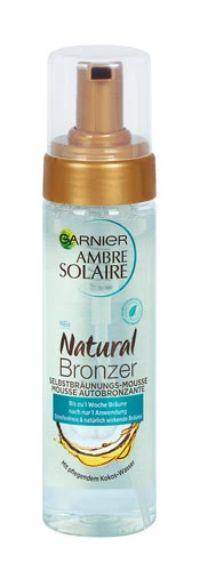 Ambre Solaire Selbstbräunungs-Mousse Natural Bronzer von Garnier