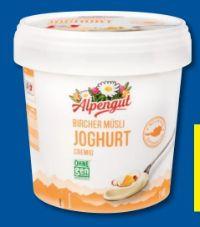 Fruchtjoghurt von Alpengut
