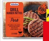 Grill Burger Patties von Abbelen