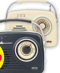 Portabler Radio FM Mono 1965 von Silva Schneider