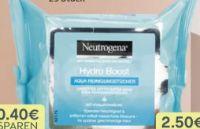 Hydro Boost Reinigungstücher von Neutrogena