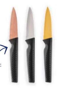 Titanium-Messer von Crofton