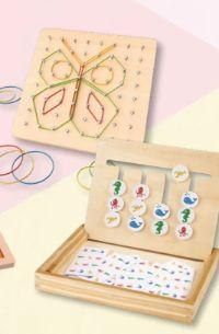 Holzspielzeug Sortiment von Playtive Junior