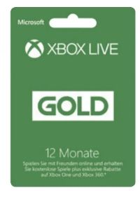 Xbox Live-Gold von Microsoft