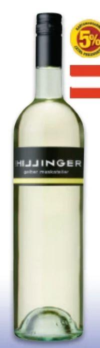 Bio Gelber Muskateller von Leo Hillinger