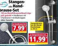 Stangenbrause-Set von Badkomfort