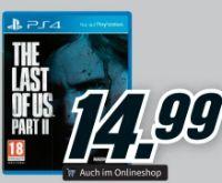 Spiele Last of Us Part II von PlayStation 4