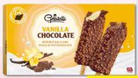Vanille-Stieleis von Gelatelli