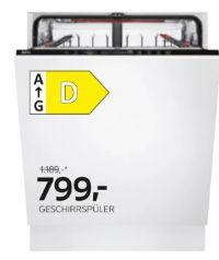 Geschirrspüler GVI637P von AEG