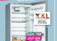 Kühl-Gefrierkombination KGV58VLEAS von Bosch