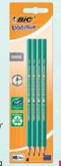 Bleistifte Evolution von Bic